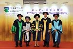 公开大学举行第二十六届毕业典礼 黄玉山校长吁各界携手加强科学教育 - 香港公开大学