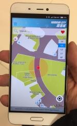 陈教授的技术目前已在尖沙咀海港城商场投入应用 - 香港科技大学